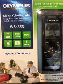 OLYMPUS WS-853 multi function stereo recorder