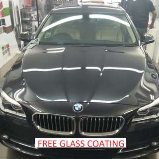 FREE GLASS COATING @ WHOLE CAR SOUND PROOFING