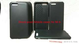 Shock-proof mobile cases for Mi 6 (Xiaomi 小米 )