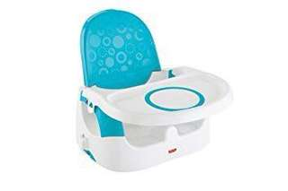 NEW Fisher Price portable baby seat Quick Clean & Go Booster