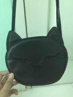 Sling bag kucing h&m