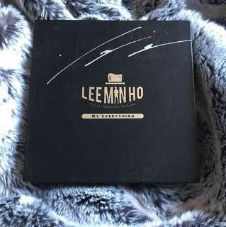 SIGNED LEE MIN HO MY EVERYTHING ALBUM