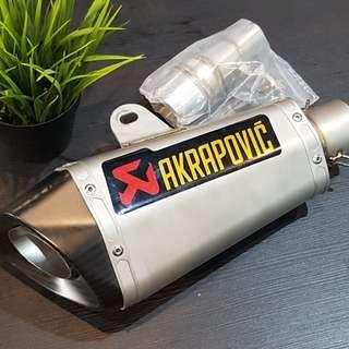 Kawasaki ninja250 z250 Muffler + linkpipe Rm850 siappos Wasap 0126135416 Serious buyer only