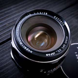 Pentax 28mm f3.5 M42 manual focus lens