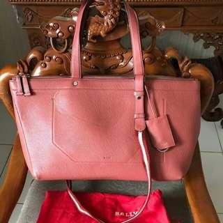 Preloved Bally Bag Pink
