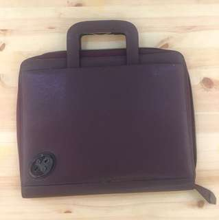 original Tumi leather briefcase