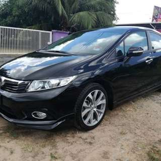 Honda Civic 2.0 (A) NAVI LEATHER P SHIFT