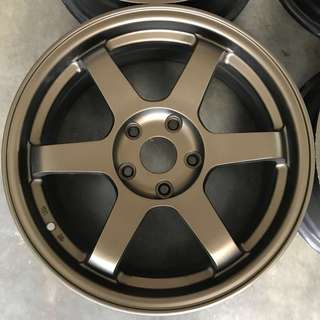 Rim Rays TE37 Bronze 17 inch lancer civic hrv