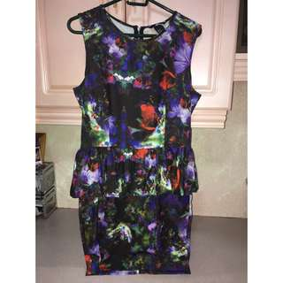 H&M floral dress -New