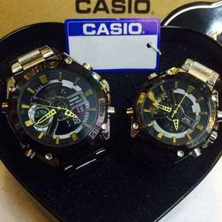 Couple Steel Watch