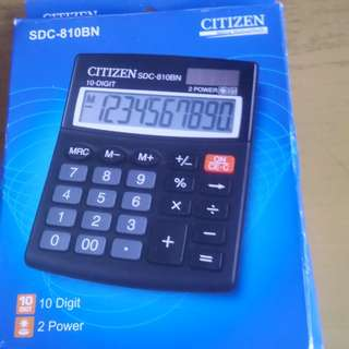 Citizen Electronic Calculator