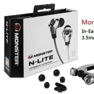 Monster Nlite In-ear Headphones