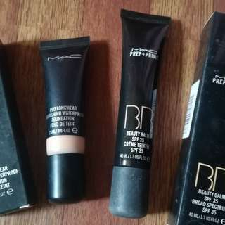 MAC Bundle Foundation & BB Cream