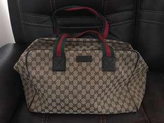 Gucci classic款旅行袋