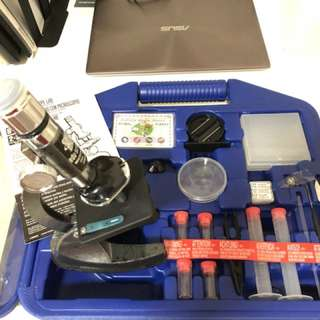 Microscope experiment