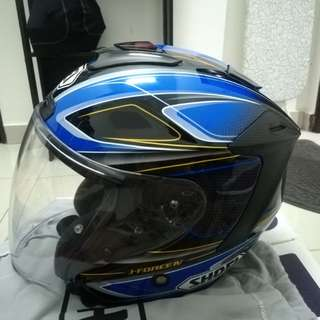 Helmet Shoei jforce 4 briller original