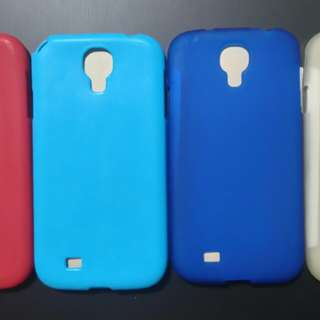 Samsung Galaxy i9500 S4 case 矽膠套