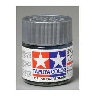 Tamiya PC12 Polycarbonate Paint Silver