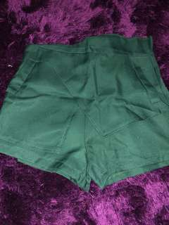 Rok celana ijo baru skort shorts skirt