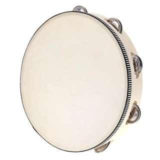 Tambourine 6, 8, 10 inch hand held drum