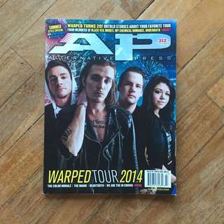 Alternative Press Magazine July 2014 312.2