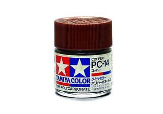 Tamiya PC 14 Polycarbonate Paint Copper