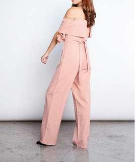 Pink Manila Jumpsuit