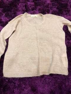 Baju zara lengan panjang sweater winter lucu