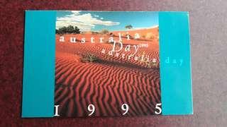 Australia Day 1995 stamp