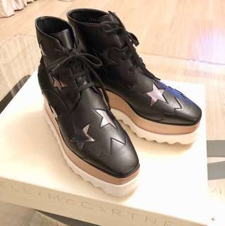 着一次:Stella McCartney platform shoes 眀星熱棒星星鞋