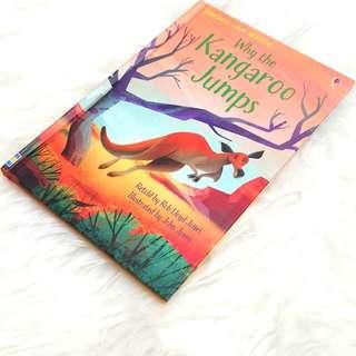 Baby book - usborne readibg level 1 - why the kangaroo jump