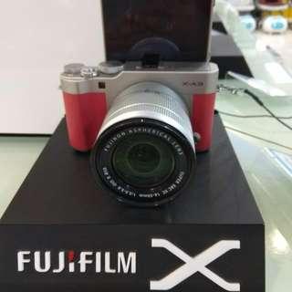 Fujifilm X-A3 Dp 0% Cukup Admin 199.000 Cashback 1 juta + Free instax