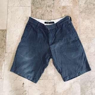 Baleno Navy Blue Chino Shorts