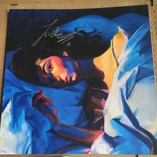 Lorde authentic signed / autographed Melodrama lithograph