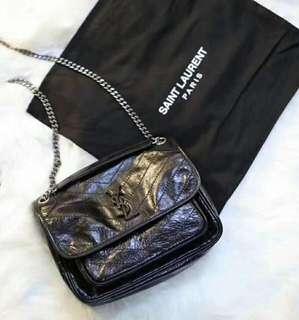 Ysl medium niki chain bag