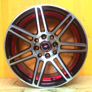 15 inch SPORT RIM Tck231 RACING WHEELS
