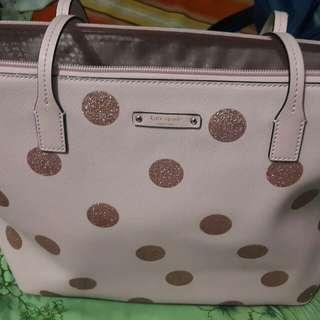 Kate Spade Original Pink Polka Dot Bag