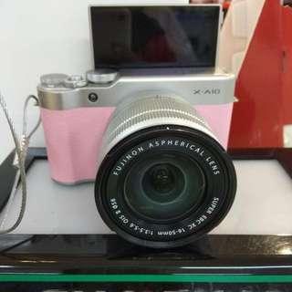 Fujifilm X-A10 Dp 0% Cukup Admin 199.000 Cicilan Tanpa CC