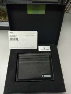Victorinox Genuine Leather Money Clip (銀包)