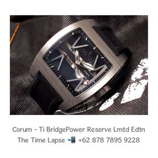Corum - Ti Bridge Power Reserve Limited Edition