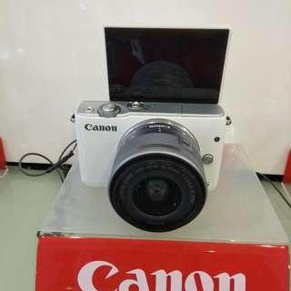 Canon Eos M10 Dp 0% Cukup Admin 199.000 Cicilan Tanpa CC