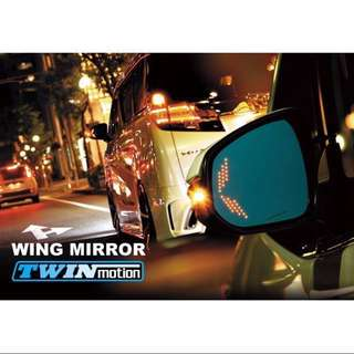 SilkBlaze side mirror