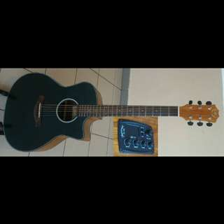 A&K Acoustic Electric Guitar 41Inch #440CE