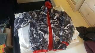 Winter Jacket Reversible (Boys 7-8 yo)
