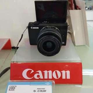 Canon Eos M100 Dp 0% Cukup Admin 199.000 Cicilan Tanpa CC