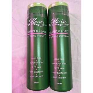 100% Authentic - Marine Essence Bamboo Salt Nourishing Shampoo, 250 ml