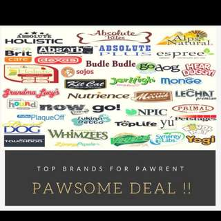 Pawsome deals for pet food canned food for dogs cat foods freeze dry dog food
