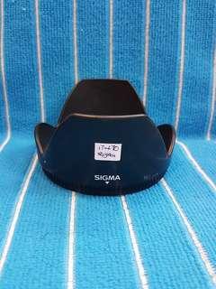 Sigma 17-70 lens hood