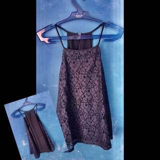 Sleeveless Top (Dark Blue)