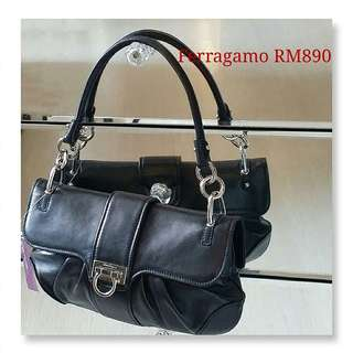 S Ferragamo Small Hobo